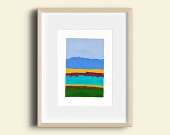 Abstract Landscape - Oil Painting 8004