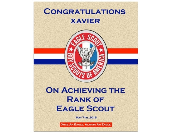Crazy image pertaining to eagle scout congratulations card printable