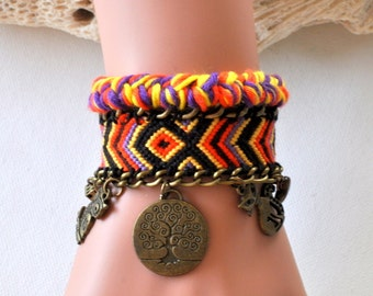 Brazilian Cuff Bracelet small wrist