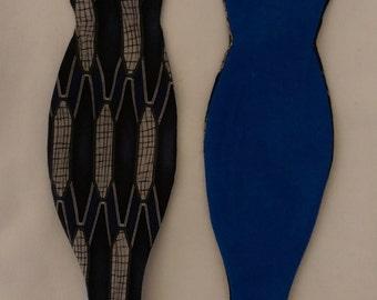 Custom silk/cotton bowtie