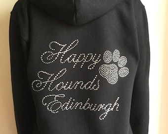 hoodie , personalised hoodie , work hoodie , rhinestone hoodie , dog hoodie , black hoodie , sweatshirt , jumper, work logo , womans hoodie