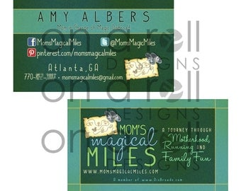 Custom Business/Contact Card Design (One- or Two-Sided)