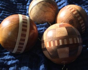 Handmade Wooden Christmas Ornaments