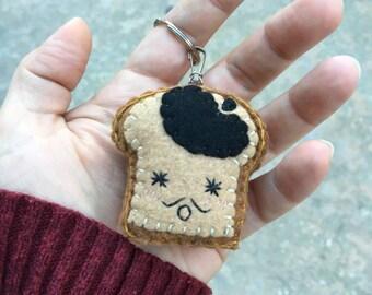 French Toast Keychain