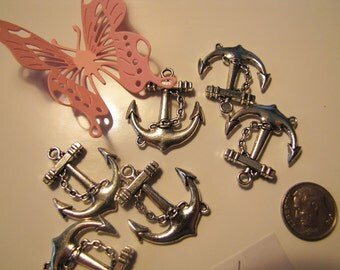 6 Anchor Charms