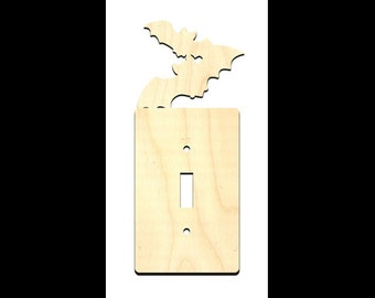 Halloween Bats Light Switch Cover - WDSF1219 - by StudioR12