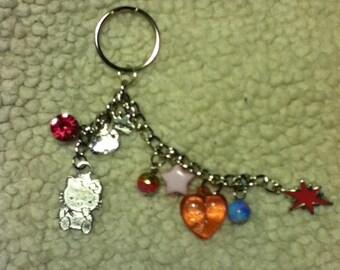 Hello Kitty Inspired Key Chain
