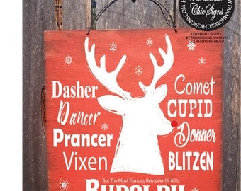 reindeer, christmas reindeer, rudolph the red nosed reindeer, christmas decorations, christmas decor, rudolph, Christmas