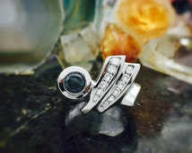 Alexandrite ring, one of a kind, genuine alexandrite, color change, fine jewelry, statement ring, June Birthstone jewelry, anniversary gift