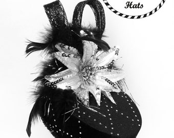 Black Velvet Party Hat
