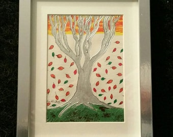 Autumn Breeze - Original Art By Helen McMahon