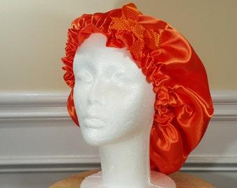 Orange Single Side Bonnet