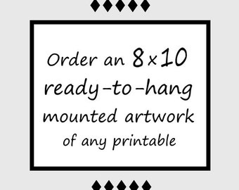 Good Poison - Order a 8x10 ready-to-hang artwork of any Good Poison printable