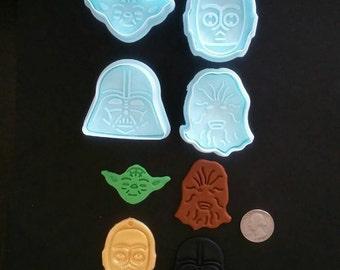 4 Pcs. Star Wars Plunger Set