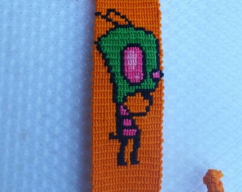 Invader Zim friendship bracelet.