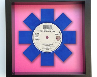 Red Hot Chili Peppers 'Under the Bridge' Vinyl Record Art