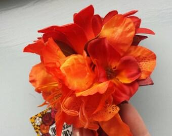 Autumnal Astronomera  hair flower