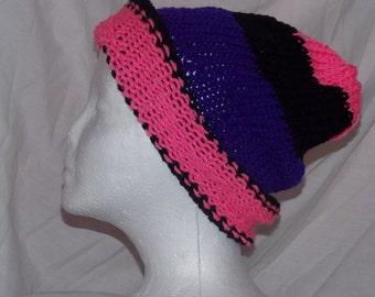 pink purple black
