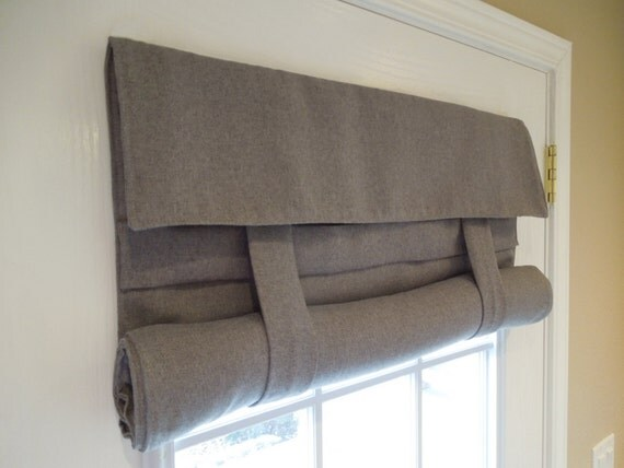 Gray Blackout French Door Curtain