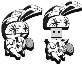 JTHM Nailbunny 8GB USB Flash Drive - Johnny the Homicidal Maniac