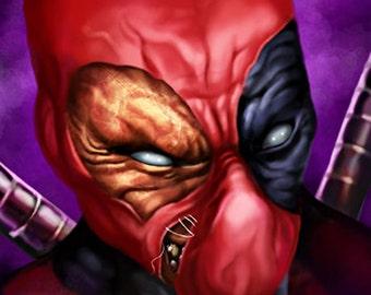 Marvel Comics Deadpool Canvas Art Print