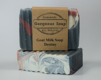 Destiny Goat Milk Soap - All Natural Soap, Handmade Soap, Homemade Soap, Handcrafted Soap