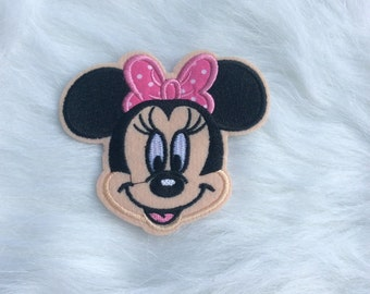 Soft Pink Minnie Mouse Patch