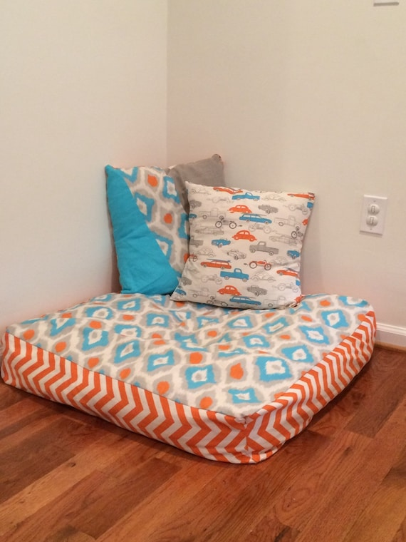 Giant Pillows For Floor : Giant Floor Pillow-Custom Floor Pillows/Floor by SpoiledElephant