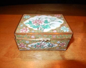 CHINA ENAMEL JEWELRY Box