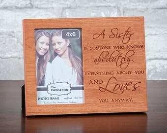 sister photo frame sibling picture frame sisters sister and brother