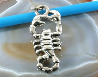 Scorpion, pendant, 925 sterling silver, electroforming - 3051