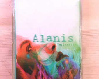 Alanis Morissette Jagged Little Pill Cassette Tape / 90s Alternative Rock Music / You Oughta Know - Ironic - Hand in my Pocket - You Learn