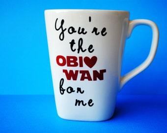 "Star Wars ""You're the Obi Wan for Me"" Mug"