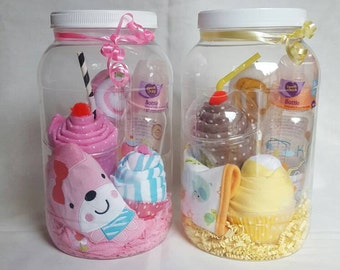Baby Gift Set in a Jar - Girl / Boy /Neutral