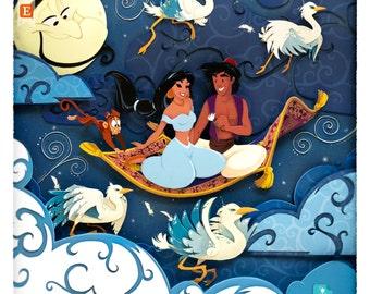 Aladdin: A Whole new World · Fine Art Print