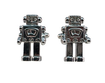 Toy Robot Cuff Links
