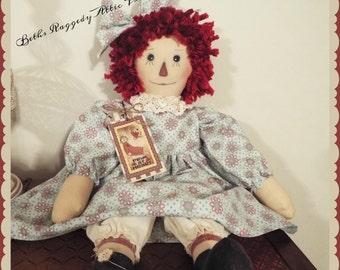 Prim Raggedy Annie Doll