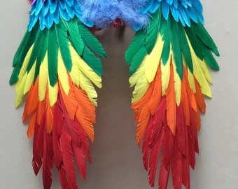 52*52cm Medium  Feather Angel Wings   Wings  White Angel Feather Wings