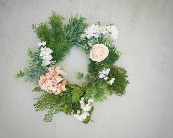 Wreath, Succulent Wreath, Alternative Wreath, Wedding Decorations, Wedding Centerpiece, Wedding Package, Home Decor