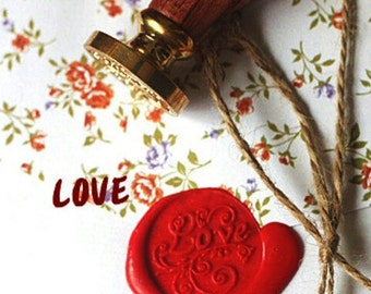 Stamp for sealing wax sealing stamp - LOVE (A986)