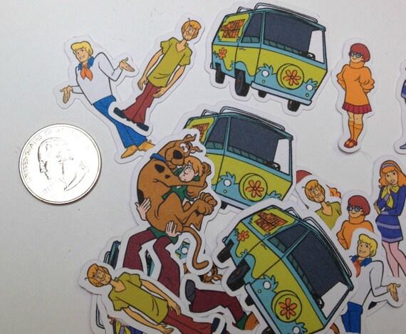 Large Confetti - Scooby Doo,Scooby Confetti,Birthday Party,Table Confetti,Party Confetti,Baby Shower,Wedding Confetti,Scooby Doo