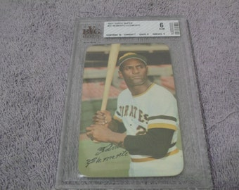 1971 Topps # 37 Roberto Clemente Mint 6