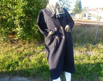 coat long vintage