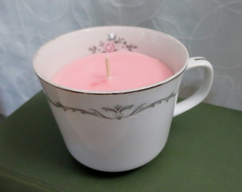 Teacup Candle Scented Candle