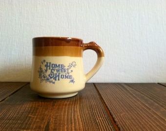 Vintage Home Sweet Home Tea Mug