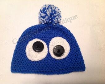 Crochet Funny monster hat