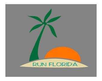 Run Florida (color option)
