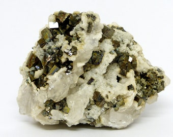 Amazing Calcite and Pyrite, Crystal, Mineral