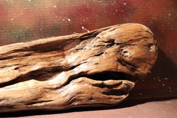 """Driftwood Sculpture """" Whale"""" Beach Wood  Wall Hanging Room Decor Driftwood Arrangement Driftwood Art Beach Sculpture Beach Art Driftwood Art"""