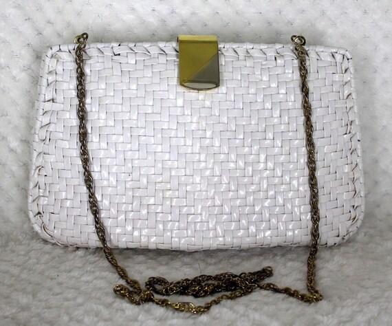 VTG Wicker Bag/Clutch by Walborg